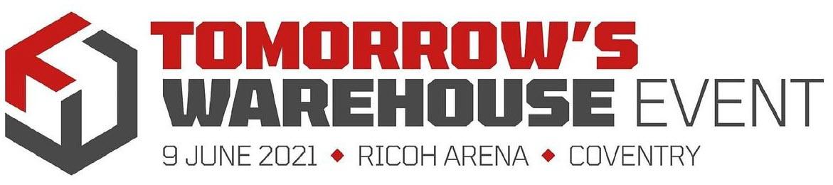 Tomorrows Warehouse  exhibition logo