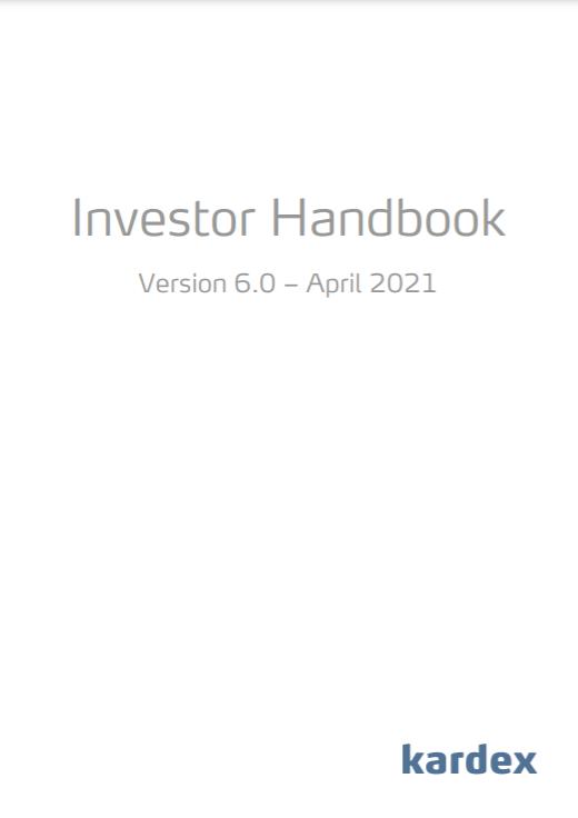 Investor handbook april