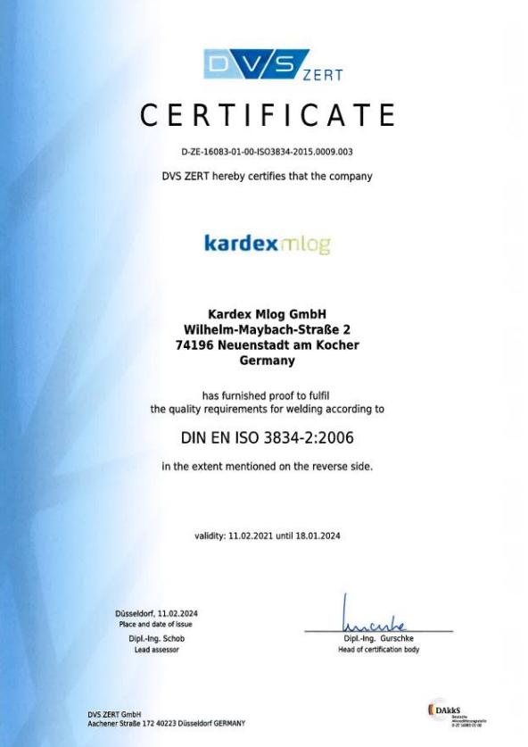ISO 3834-2 EN