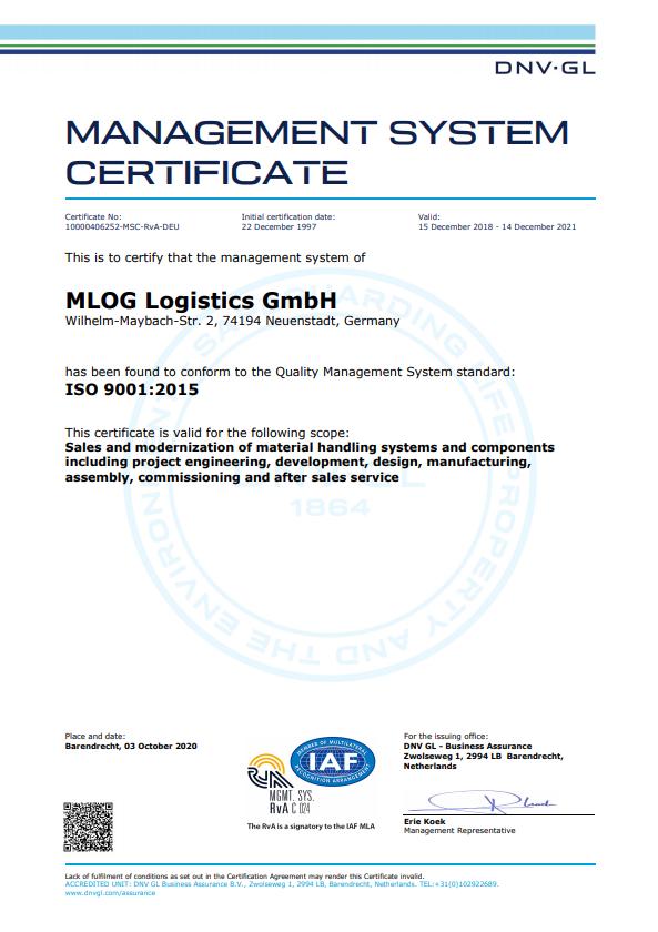 ISO 9001 rev0 10000406252-MSC-RvA-DEU English